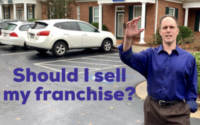 Should I sell my franchise business?
